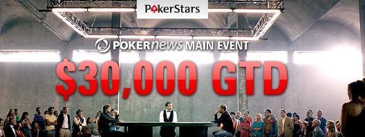 Do Kraja Vikenda Kvalifikujte Se Za PokerNews ,000 Freeroll na PokerStarsu 101