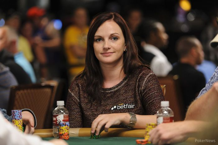 Hille on Day 2 of 2013 WSOP Main Event