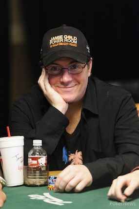 2006 WSOP Main Event champ Jamie Gold fell on Day 2c.