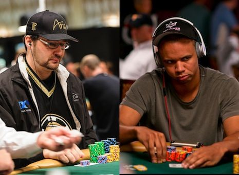 Phil Hellmuth & Phil Ivey both advanced to Day 3.