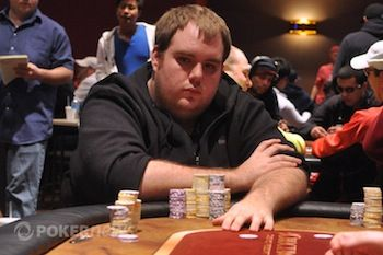 Maxx Coleman in action at the WSOP Circuit Choctaw.