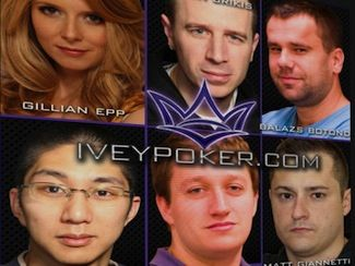 Members of Team Ivey. Picture courtesy of Ivey Poker.