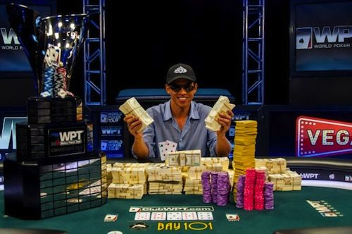 Kai Chang after his win.