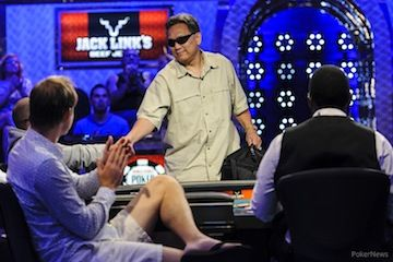 Steve Gee barely missed out on back-to-back final tables.
