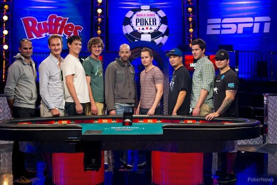 The 2013 WSOP November Nine