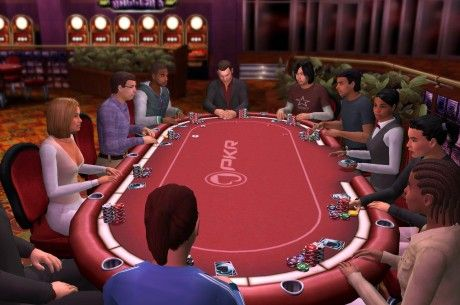 PKR's 3D poker gaming world is unique in the poker industry