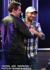 Marton & Negreanu after the final hand.
