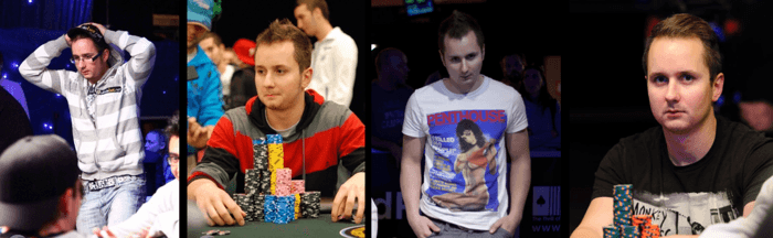He's grown up in front of our eyes! Mclaughlin at the WSOP 2009-2013