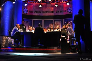 The final table.