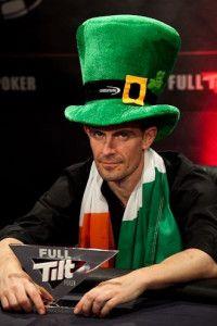 Gus Hansen, laimėjęs UKIPT Galway turnyrą, pasipuošė airiškomis spalvomis 101