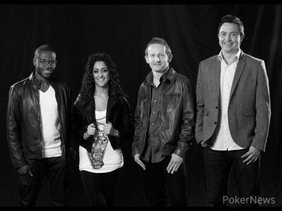 The FTP Ambassadors Martins Adeniya, Sinem Melin, Dermot Blain and Ben Jenkins.
