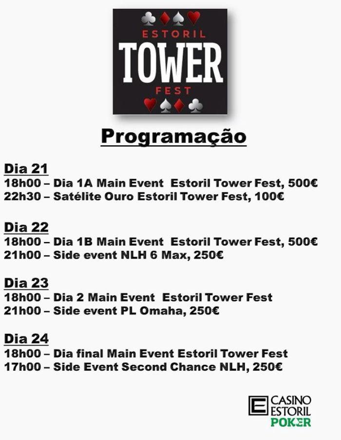 Arranca Amanhã o Main Event Estoril Tower Fest 101
