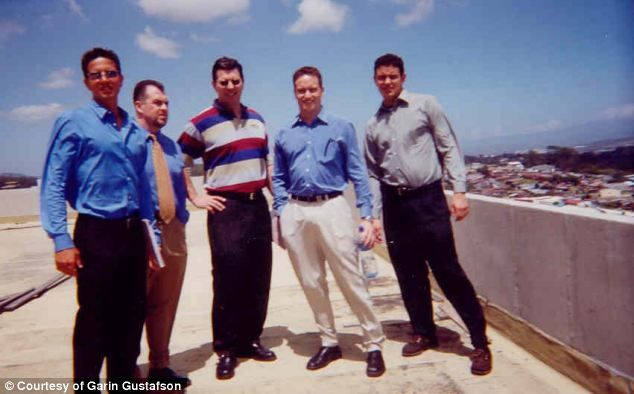 (left to right) Garin Gustafson, Gary Thompson, Phil Tom, Shane Blackford and Scott Tom. Some of Absolute Poker's founders.