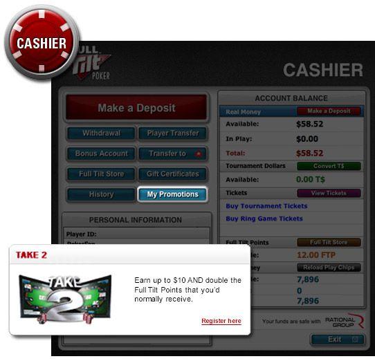 Take 2 Regressa à Full Tilt Poker 101