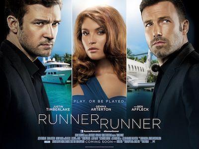 The Runner Runner movie poster
