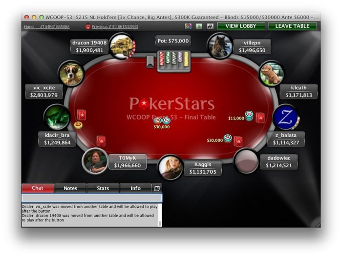 dadowiec na FT WCOOP Event 53