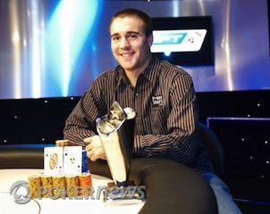 EPT6 London champ Aaron Gustavson