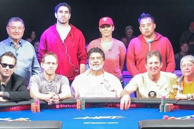 The HPT Thunder Valley Casino Resort final table.