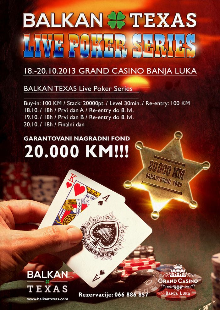 Balkan Texas Poker Turnir, 18-20. Oktobar Grand Casino Banja Luka 101