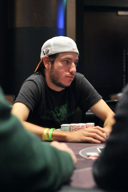 Weinman deep in Event #2 at the 2013 WSOPE