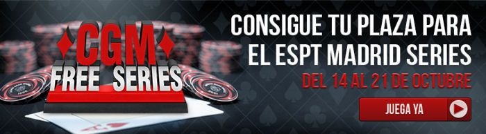 Casino Gran Madrid te lleva gratis a las ESPT Madrid Series 102