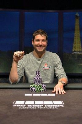 2013 WSOPE Event #4 winner Jeremy Ausmus