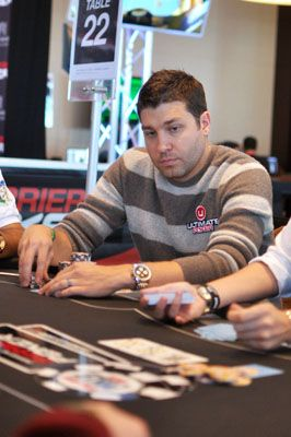 Ausmus in the WSOPE Main Event
