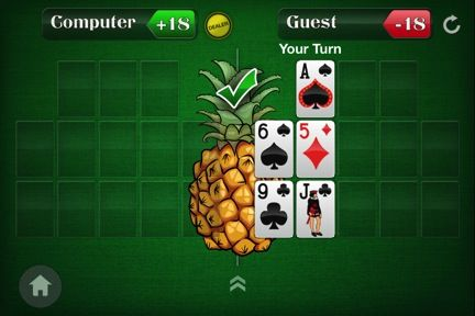 Spice Up Your Open-Face Chinese Poker Game by Adding a Pineapple Twist 101