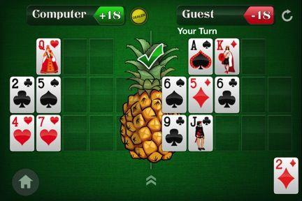 Spice Up Your Open-Face Chinese Poker Game by Adding a Pineapple Twist 102