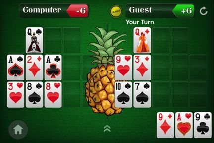 Spice Up Your Open-Face Chinese Poker Game by Adding a Pineapple Twist 106