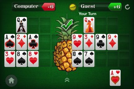 Spice Up Your Open-Face Chinese Poker Game by Adding a Pineapple Twist 107