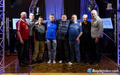 The eight official final table players.