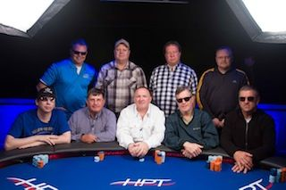 The HPT Indigo Sky Casino final table.