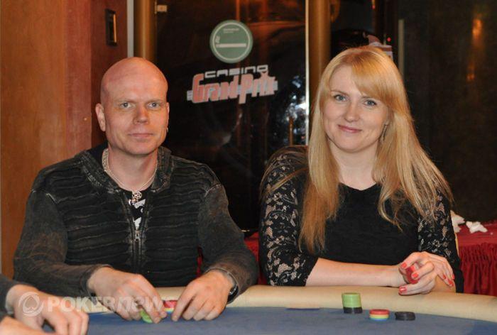 Ave koos venna Urmasega PokerNews Live'il
