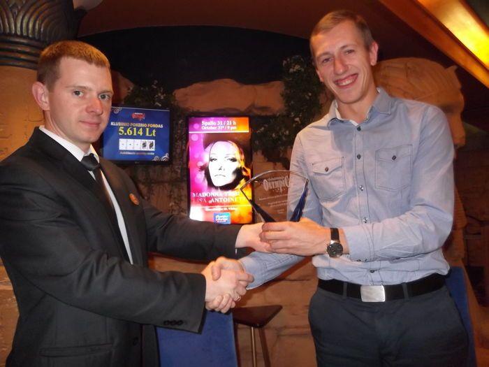 Kauno Miesto Čempionato atomazgoje - saldi Nerijaus Gursko pergalė 108