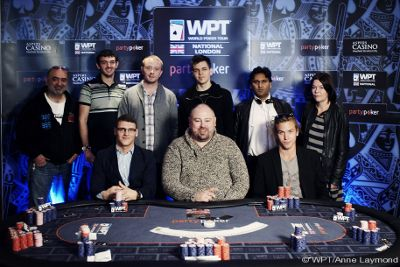 John Ventre Takes Down the WPT National UK London Main Event; Wins £20,250 101