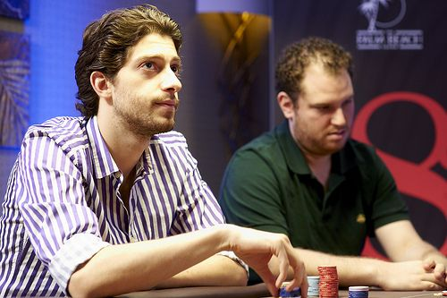 Kurganov i Seiver (zdjęcie z WPT.com)