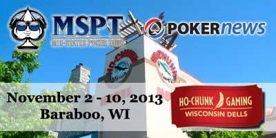 PokerNews MSPT Set to Invade Ho-Chunk Wisconsin Dells 101