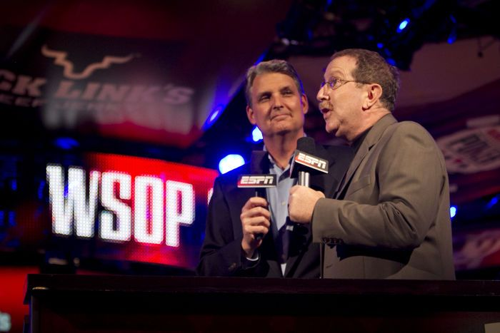 Lon McEachern and Norman Chad will be on hand again to provide commentary at the 2013 WSOP Main Event final table