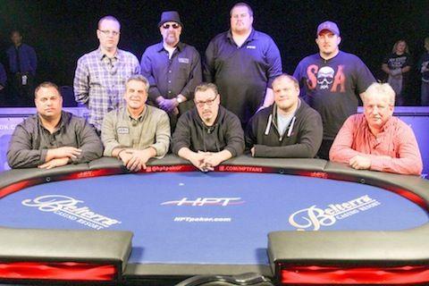 The Belterra Casino Resort final table.