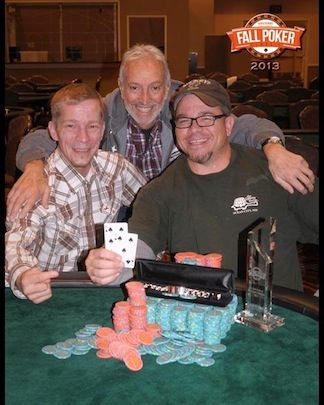 ©2013-14, Eric Harkins/IMPDI - Winner Championship Event, Mick Donovan (right), 2nd place Gil George (center)