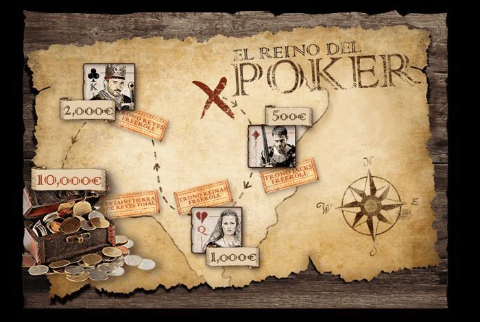 """Estructura promoción """"Reino del Poker"""""""