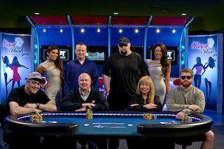 The World Poker Tour bestbet Jacksonville Fall Poker Scramble final table.