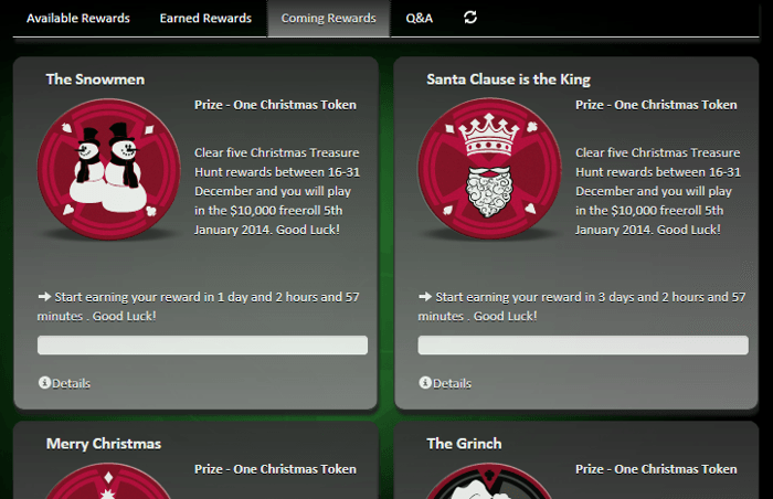Tänasest algab Pafis pokkerimängijatele jõulukampaania 101