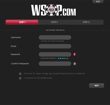 Online Poker How-To: Registering and Logging Into the WSOP.com Client 101