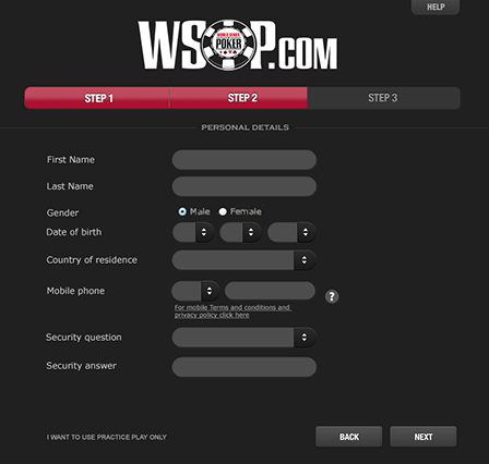Online Poker How-To: Registering and Logging Into the WSOP.com Client 102
