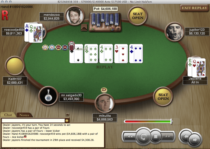 "João ""Jayjay"" Ferreira foi 29º no Sunday Million Especial WCOOP (,308) 101"