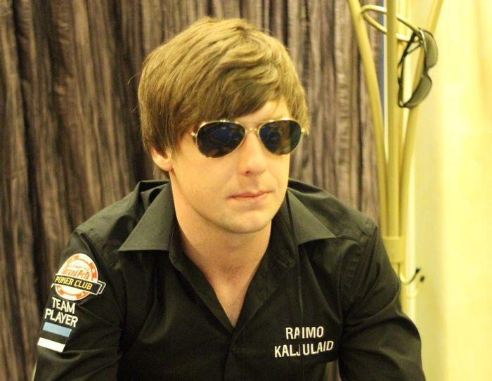 Casino Grand Prix sponsoreeritud mängija Raimo Kaljulaid