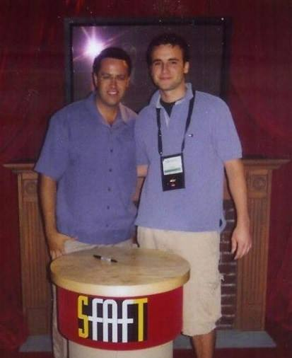 Ziemba with Subway legend Jared Fogle