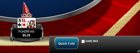 Рейз макс или бърз фолд опции в Adrenaline Rush игра